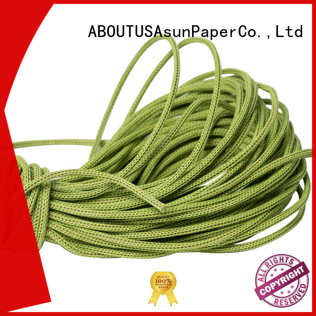 Asun paper rope knitted paper rope ribbon pure indoor