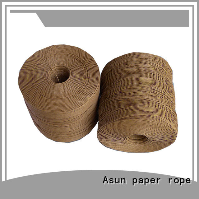 Asun paper rope paper cord personalized for home textile