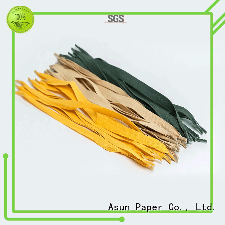 Asun paper rope integrated paper handle customized for shop