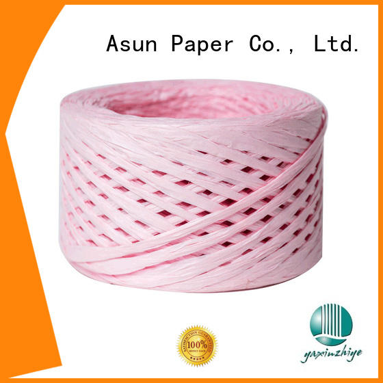 Asun paper rope wrapping raffia paper for decoration DIY