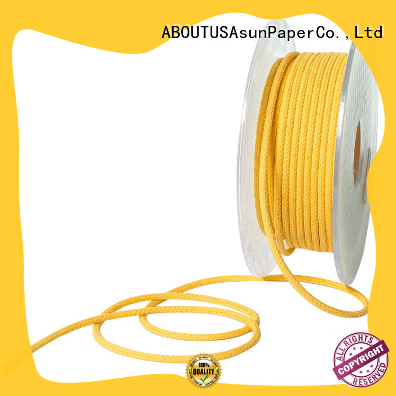 core braided twine paper shoes Asun paper rope