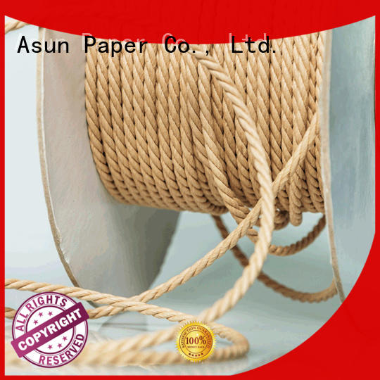 Asun paper rope twine rope factory price for indoor