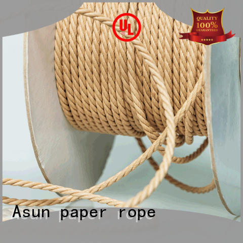 woven paper cord supplier for craftwork gifts