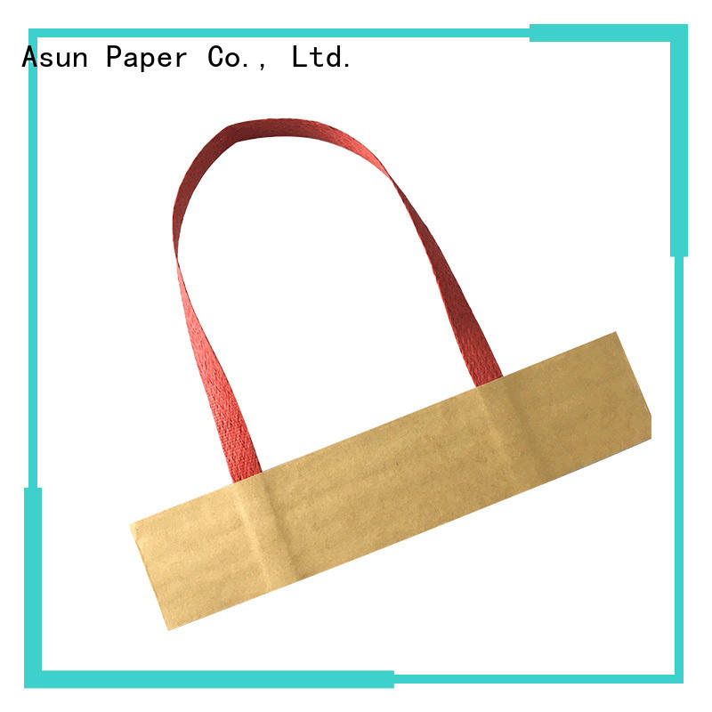 Asun paper rope woven paper handle series for indoor