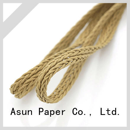 Asun paper rope braided twine supplier for led lamp