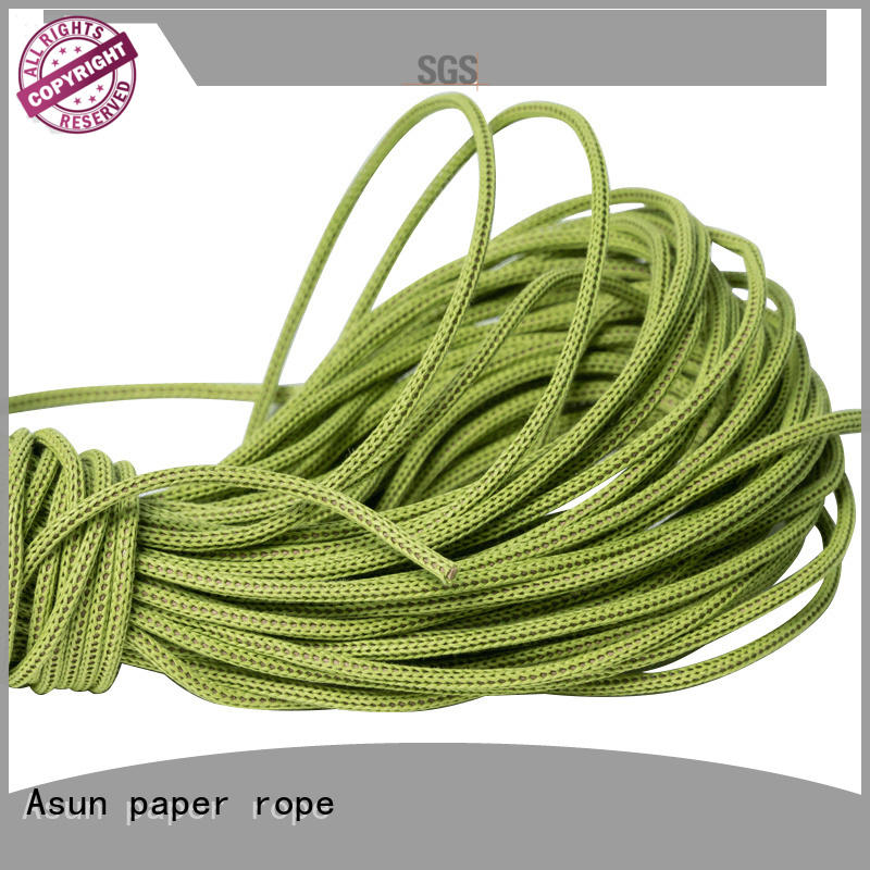 Asun paper rope multifunctional creative twist paper ribbon from China for indoor