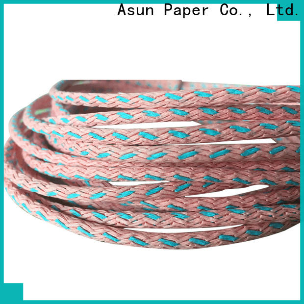 Asun paper rope environmental paper twist wholesale for shoes