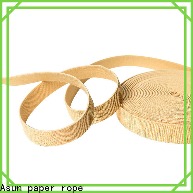 Asun paper rope paper ribbon roll customized for bags