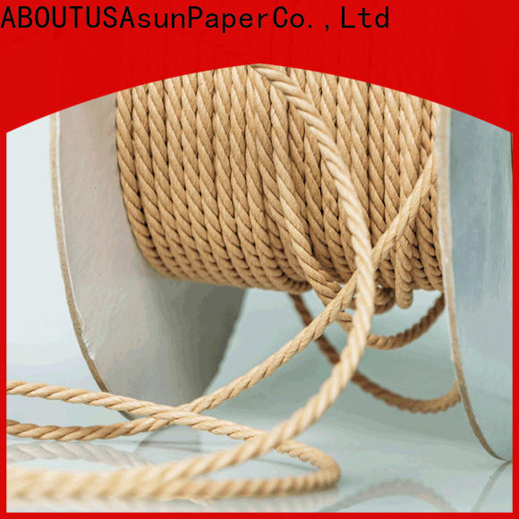 Asun paper rope twine rope personalized for shoes