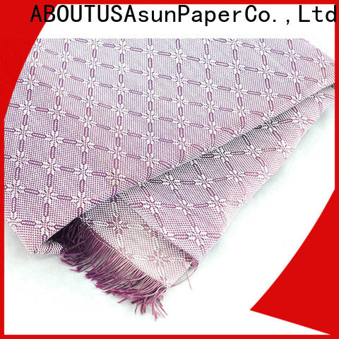 Asun paper rope paper paper cloth factory for garment accessories home for furnishing printing &packaging for craftwork