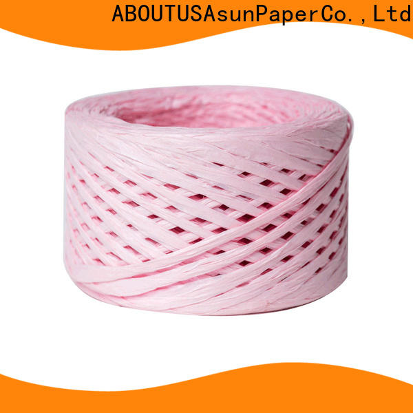 Asun paper rope professional paper strips directly sale for decoration DIY