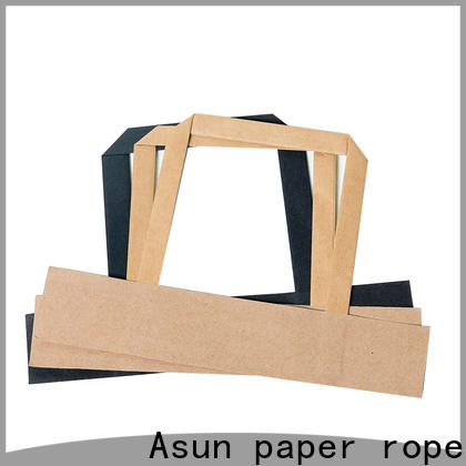 Asun paper rope stable gift bag handles from China for indoor