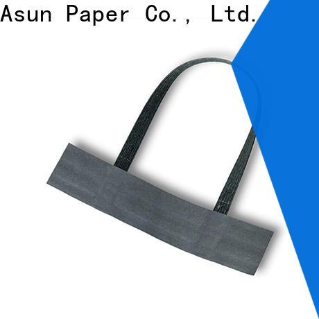 woven flat paper handle manufacturer for shop