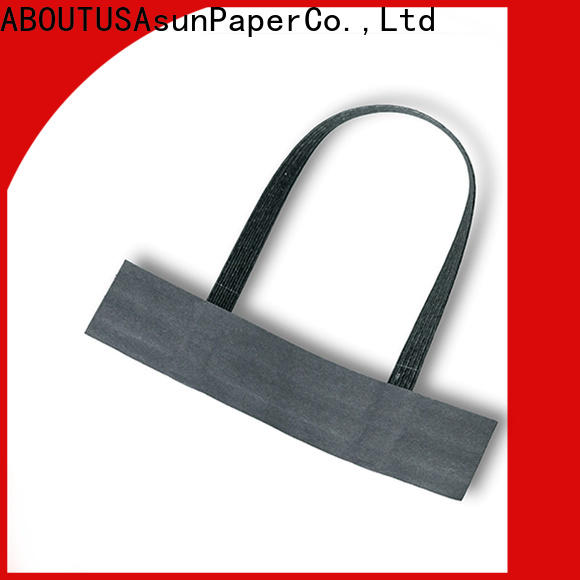 Asun paper rope bag handles wholesale directly sale for flat