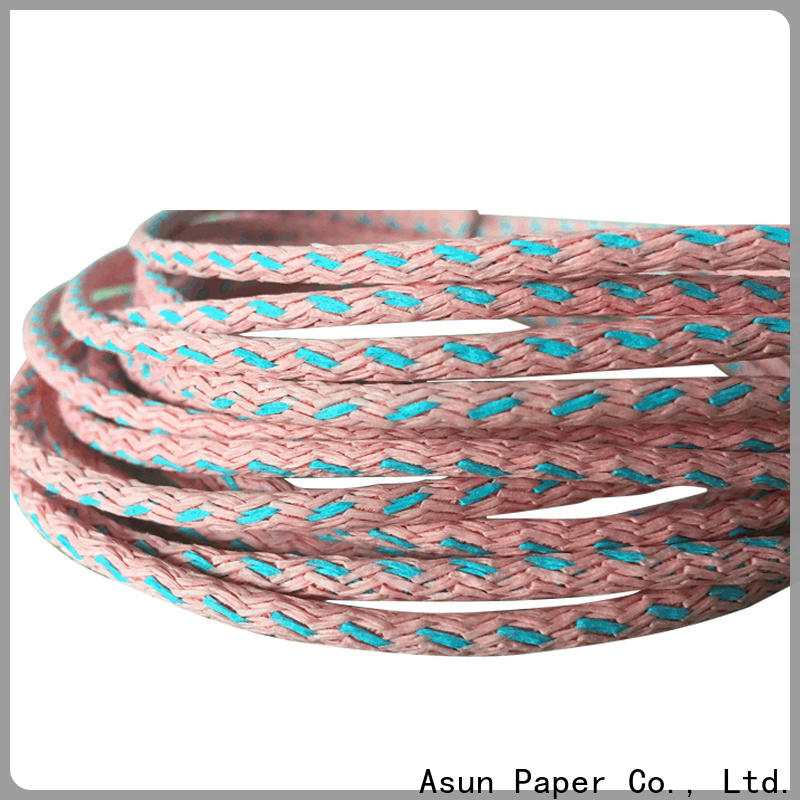 Asun paper rope party paper ribbon personalized for shoes