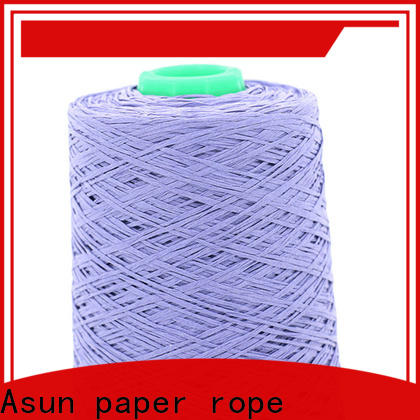 Asun paper rope online yarn paper factory for casement cloth