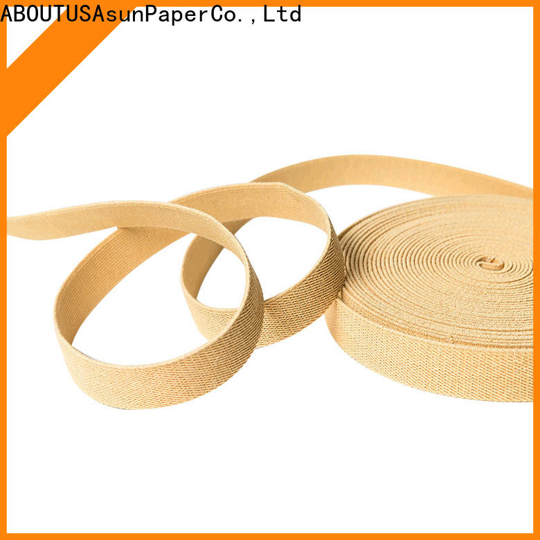 braided paper ribbon from China for home textile