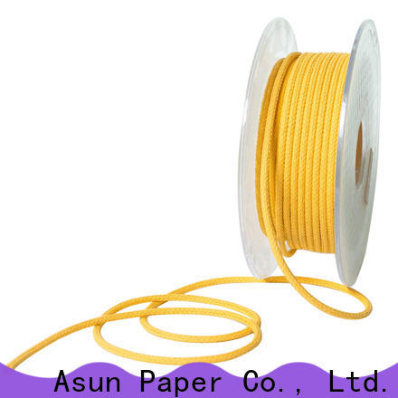 Asun paper rope wooden paper twine wholesale for shoes