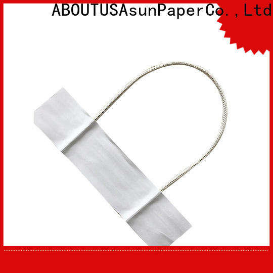 Asun paper rope woven bag handles wholesale manufacturer for indoor