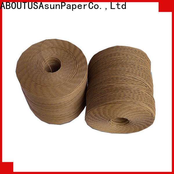 multifunctional twine rope factory price for shoes