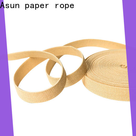 Asun paper rope paper ribbon roll directly sale for shoes
