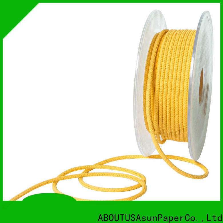 pure braided twine wholesale for paper handle