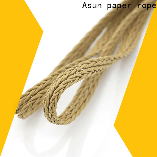 wooden braided twine supplier for garment accessories