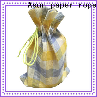 Asun paper rope black paper cloth bag series for shirts