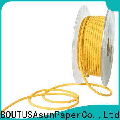 pure paper twine personalized for home textile