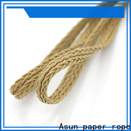 Asun paper rope hollow braided code wholesale for led lamp