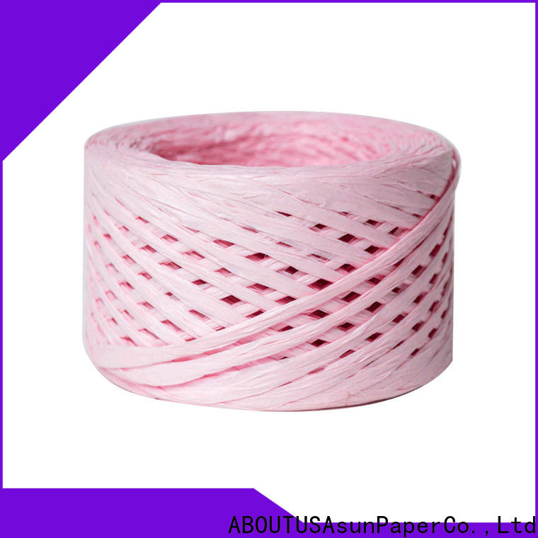 wrapping raffia cord directly sale for DIY