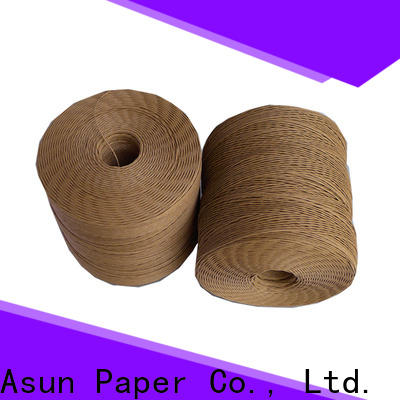 Asun paper rope twine rope supplier for craftwork gifts