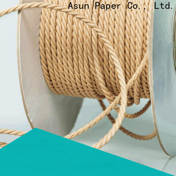 multifunctional paper cord wholesale for home textile