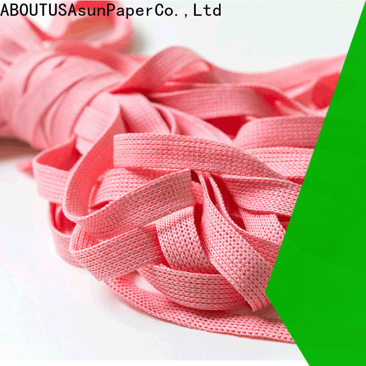 knitted wired paper ribbon series for home textile