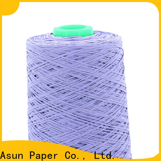 Asun paper rope online newspaper yarn design for shirts