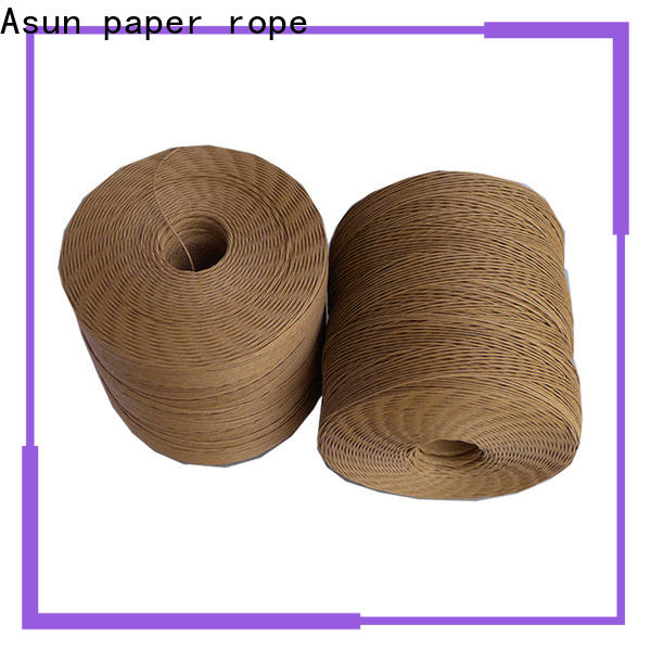 Asun paper rope hollow twine rope supplier for pendant light