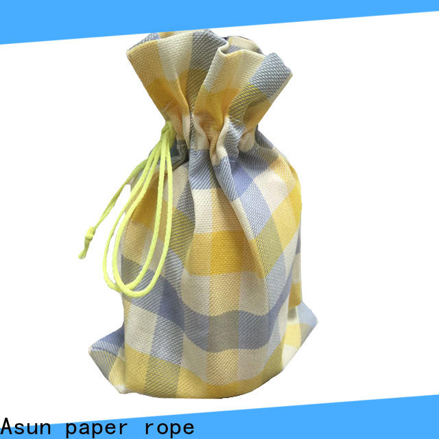 Asun paper rope customized paper cloth bag from China for socks