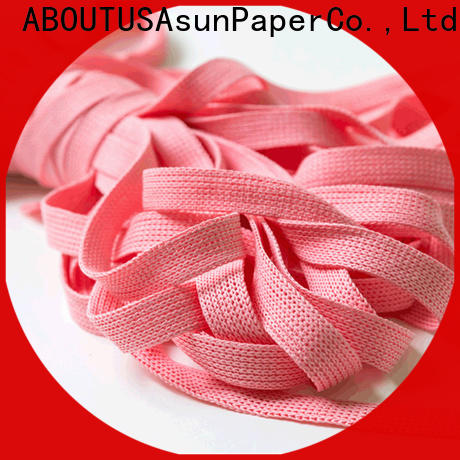 Asun paper rope woven paper rope ribbon from China for led lamp