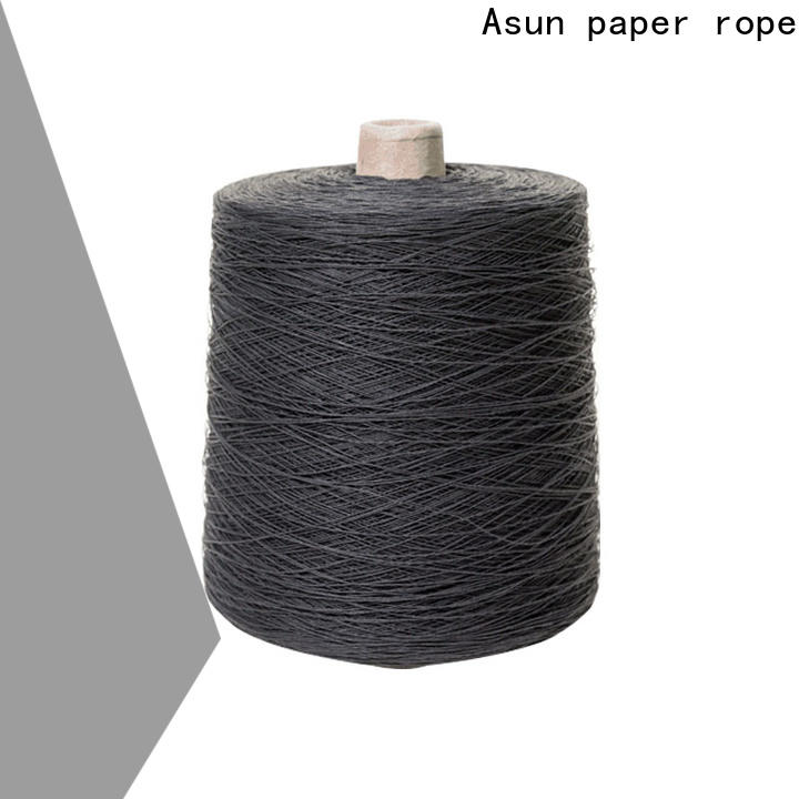 Asun paper rope yarn paper inquire now for textile material