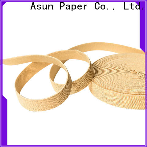 braided paper ribbon roll manufacturer for bags