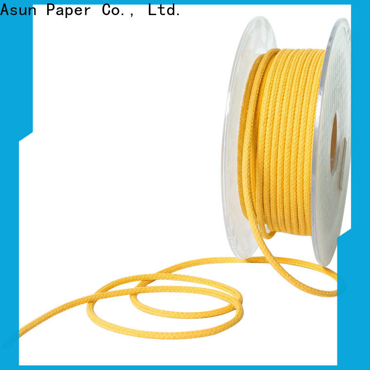 Asun paper rope hollow paper twine wholesale for shoes