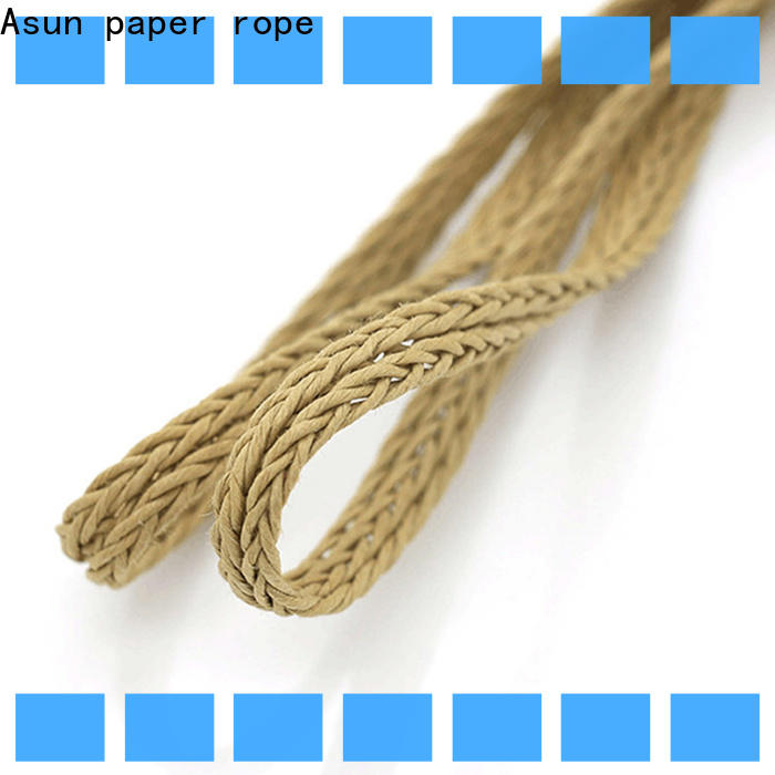 wooden braided code factory price for paper handle