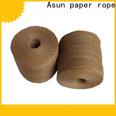 Asun paper rope twine rope supplier for shoes