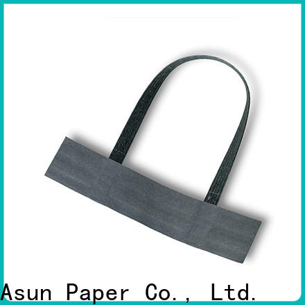 Asun paper rope woven paper handle series for flat