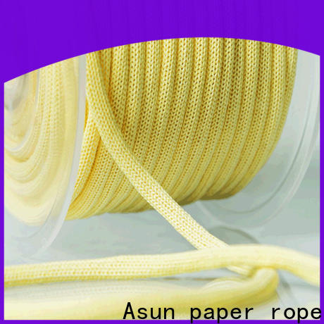 Asun paper rope multifunctional brown paper twine customized for shoes