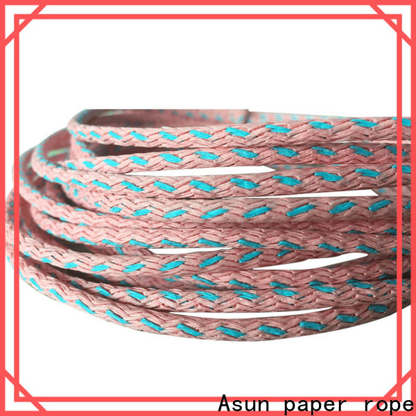 Asun paper rope hollow paper twist factory price for craftwork gifts