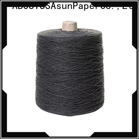 Asun paper rope customized paper yarn with good price for dresses