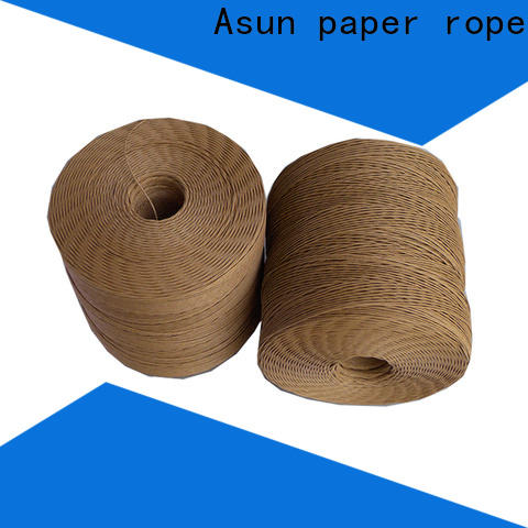 knitted paper rope wholesale for shoes