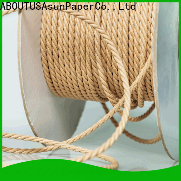 Asun paper rope woven paper cord personalized for indoor