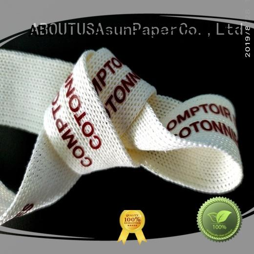 paper wide paper ribbon from China for paper handles Asun paper rope